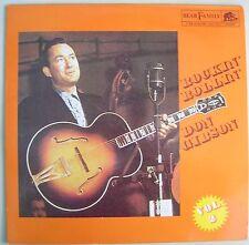 Don Gibson Rockin Rollin Vol 2 LP Rockabilly Bear Family Chet Atkins Producer