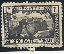 VARIETE-Monaco N°:60- TTB-(cadre superieur brisé au dessus de 1f) -NOUVEAUTE !