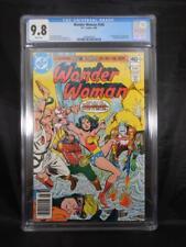 Wonder Woman #268     CGC 9.8     White Pages    1st App Lumberjack
