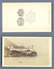 Demay, l'Abbaye d'Hautecombe Vintage albumen CDV, carte de visite CD