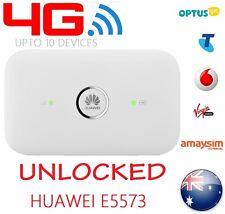 NEW & UNLOCKED OPTUS 4G POCKET WIFI MODEM   HUAWEI E5573   ==PREMIUM QUALITY==