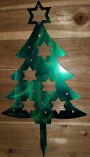 CHRISTMAS TREE YARD ART . CNC PLASMA Metal ART HAND MADE  WACO TX