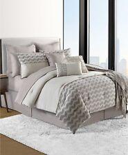 Sunham Fin Cotton 14 Piece QUEEN Comforter Set Bedding Ensemble $360 H361