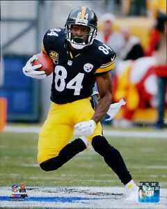 Antonio Brown Pittsburgh Steelers NFL Licensed Unsigned Matte 8x10 Photo B