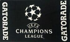"UEFA Champions League Gatorade Soccer Towel Brand New 24"" x 16"" Rare 2 Sided"