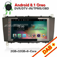 DAB+Autoradio Mercedes Benz C/G/CLK W203 W209 Viano W639 Android 8.1 Bluetooth