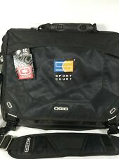 Ogio The Sport Court  Locker Bag Black Gym Athletic Hand Shoulder Audio pocket