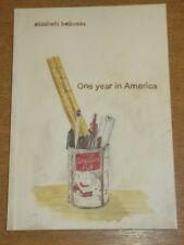 Un ANNO IN AMERICA ENIGMA ELISABETH belliveau Graphic Novel 9781894994873