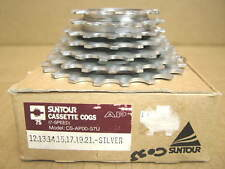 New-Old-Stock Suntour Accushift Plus 7-Speed Cassette...12x21 (Silver Finish)