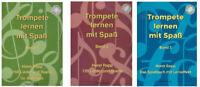 """Trompete lernen mit Spaß - Band 1, 2 oder 3 mit CD + 1 Bleistift """"Musikmotiv"""""""