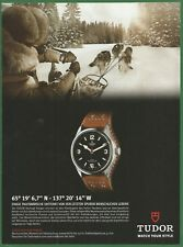 TUDOR Heritage Ranger - A Rolex sister company - 2014 Watch Print Ad