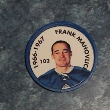 Frank Mahovlich Parkhurst Coin 1966-67 issued 1995-96 # 104 group 2