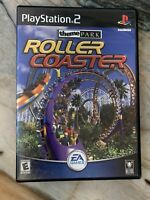 Roller Coaster Theme Park Complete CIB PlayStation 2 PS2 Game Tested