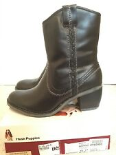NEW IN BOX Hush Puppies Rustique leather womens ankle boots size 8.5