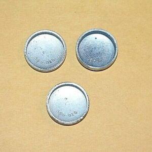 "3 Cylinder Head Expansion Plugs 555-018 1"" 1960 - 1983 Ford Mercury 67 - 87 AMC"