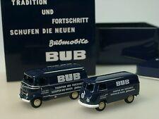 BUB Jahres-Edition 2003, Mercedes + VW Kastenwagen - 06900 - 1:87