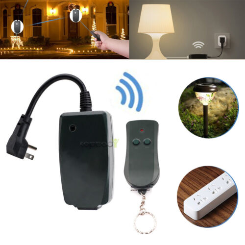 Info Outdoor Remote Controlled Outlet Travelbon.us