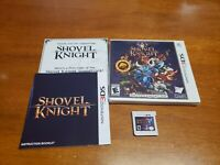 Shovel Knight (Nintendo 3DS, 2015) CIB Complete TESTED Fast Shipping 3DS 2DS