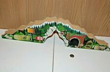 Thomas Train Friends Tank Engine Wooden Railway Timber Tree Trunk Tunnel Hill