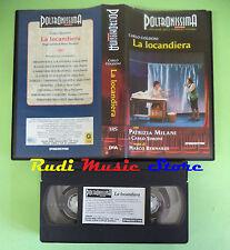 VHS film LA LOCANDIERA Patrizia Milani Carlo Simini POLTRONISSIMA (F63) no dvd