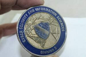 Cyber Security and Information Sciences Division 5 Challenge Coin