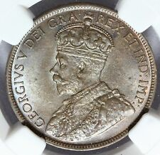 1918 Canada Large One Cent Penny Coin -  NGC MS 64 BN - KM# 21