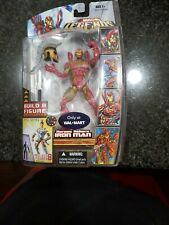 2008 Marvel Legends Heroes Reborn Iron Man Build A Figure ares baf new in box