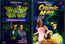 Strangers From Venus-Cosmic Man-594ms Ciencia Ficción Nuevo 2 DVD
