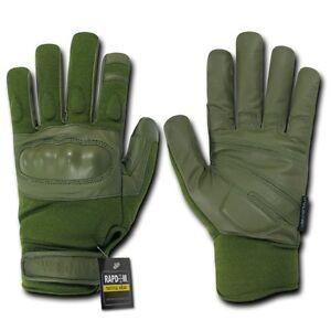 Olive Nomex Tactical Hard Knuckle Combat Patrol Gloves Glove Pair S M L XL 2XL