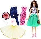 Barbie Fashion Mix 'N Match Doll, Brunette