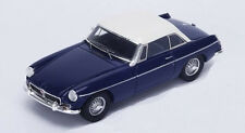 Spark 1/43 S4138 MG B Roadster With Hard Top Blue/White