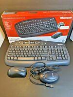 Microsoft Wireless Optical Desktop 1000 Keyboard + Optical Mouse BV3-00003.