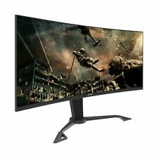 Viotek GN35DA 35Inch Curved Ultrawide Gaming Monitor 144Hz 21:9 FreeSync HDMI DP