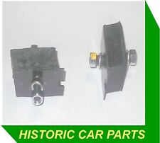 Morris Minor MM 918cc 1949-53 - 2 EARLY ENGINE MOUNTINGS & FIXINGS