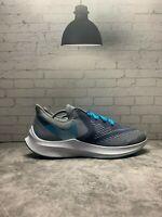 Nike Zoom Winflo 6 Mens Obsidian Mist/Blue Running Shoes AQ7497-400 - Size 11