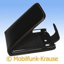 FLIP Case Astuccio Custodia Cellulare Borsa Astuccio Per Samsung gt-b7510/b7510 (Nero)