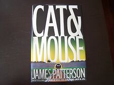 James Patterson Signed Cat & Mouse 1st / 1st Along Came A Spider First Edition