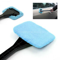 Car Window Cleaner Windshield Brush Handy Washable Cleaning Cloth Tool