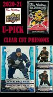 2020 - 21 UPPERDECK TIM HORTONS 🍁🏒 CLEAR CUT PHENOMS 🏒🍁 U-Pick 🏒🍁