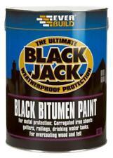 BITUMEN PAINT BLACK 1L Chemicals Coatings - JC87656