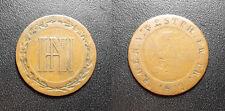 Allemagne - Royaume de Westphalie - 3 Cent. de Jérôme Napoléon 1809 Cassel C#23