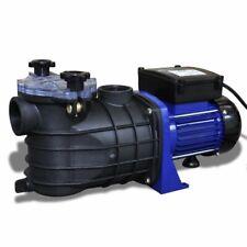 vidaXL Pompa di Filtrazione Elettrica per Piscina 500W Blu Filtro Spa Laghetto