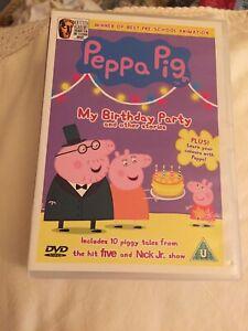 Peppa Pig: My Birthday Party DVD