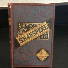 SHAKSPERE (SHAKESPEARE) - ILLUSTRATED - THE WORK OF WILLIAM SHAKSPERE - KNIGHT