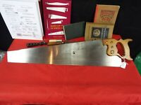 Stack Sellers & Co. #699 Crosscut Hand Saw, 8 PPI, Sharpened & Tuned, UK (1283)