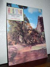 "Arizona Highways:""In Canyon Del Muerto""- April 1959-Vol. XXXV No.4-Mag"