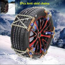 1Pcs Car Truck Wheel Tire Snow Anti-skid Chain Wear-resistant Steel Tire Chain