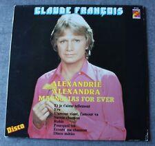 Claude François, Alexandrie Alexandra, LP - 33 tours import