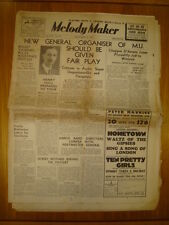 MELODY MAKER 1937 SEP 25 HENRY HALL DORSEY BROTHERS