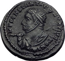 CONSTANTINE I the Great 319AD London Londinium Ancient Roman Coin ALTAR i64039